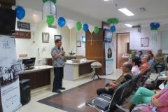 Sambutan oleh Direktur Utama RS YPK Mandiri Prof. dr. Endy Moegni, SpOG(K)