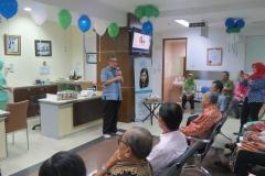 Sambutan oleh Direktur Utama RS YPK Mandiri dr. H.MS. Nadir Chan, SpOG(K)